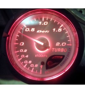 reloj presion de turbo tipo defi cr