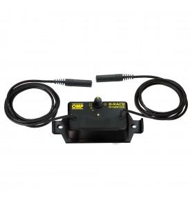 INTERCOM CONTROL BOX RACER LINE OMP STEREO PLUG JA/874